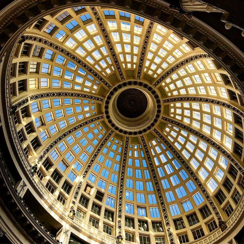 Rotunda. (at The Oakland Rotunda)