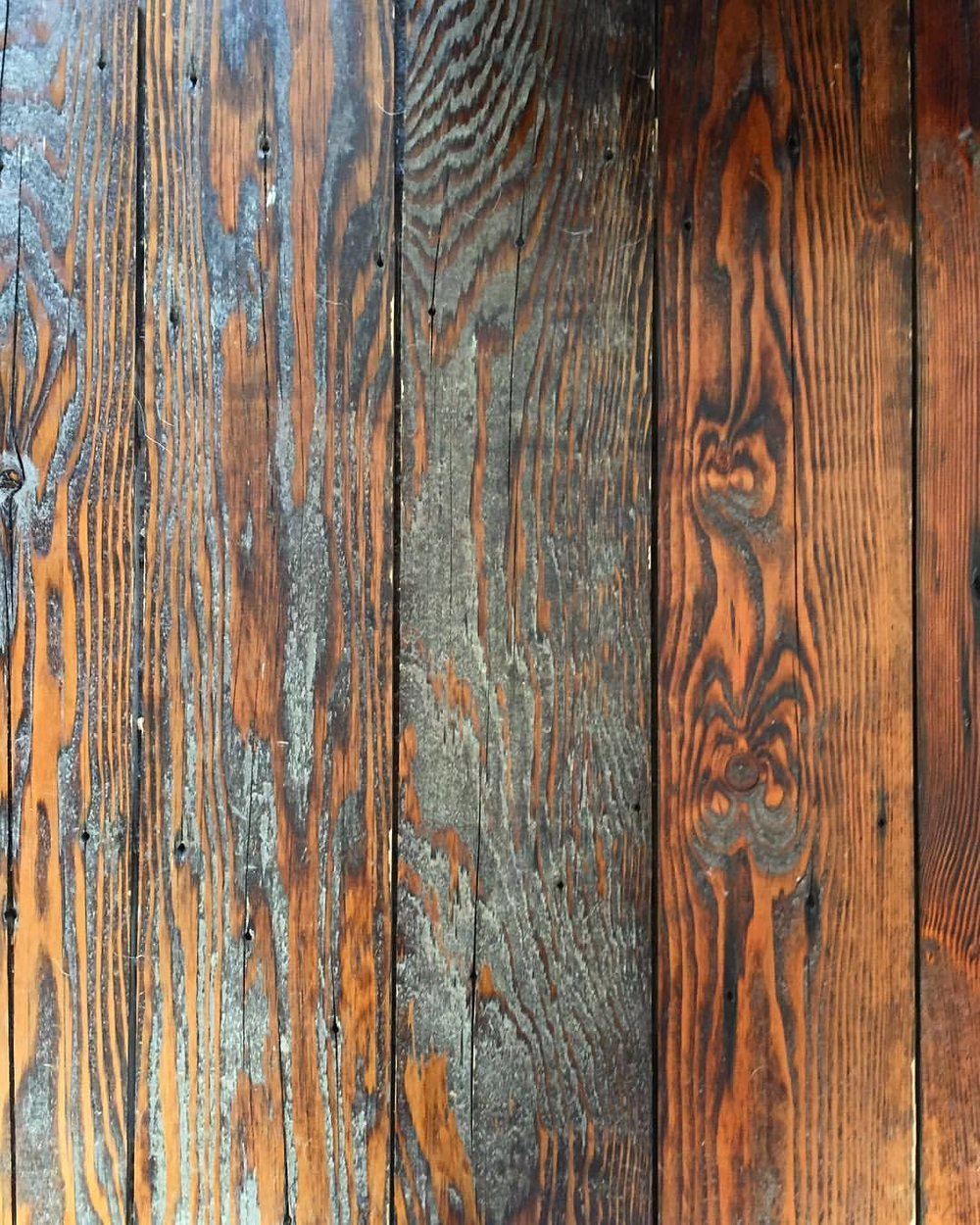 Reclaimed wood floor.  #oldbarns #reclaimedwood #woodworking  (at Point Reyes National Seashore)
