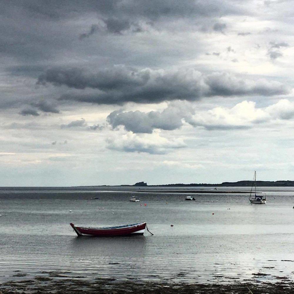 Holy Island.  #england #uk #northumberland #walkingholiday  (at Lindisfarne, England, United Kingdom)