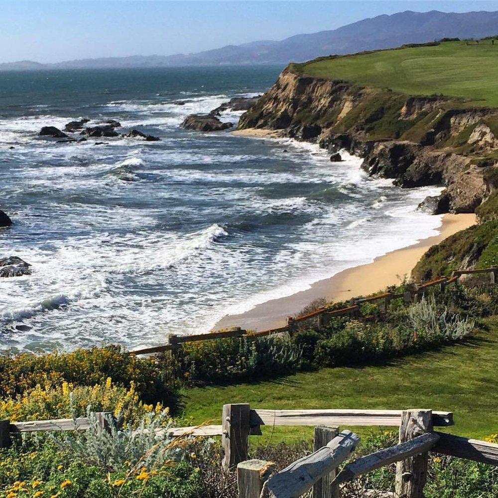 #california ❤ (at Half Moon Bay, California)