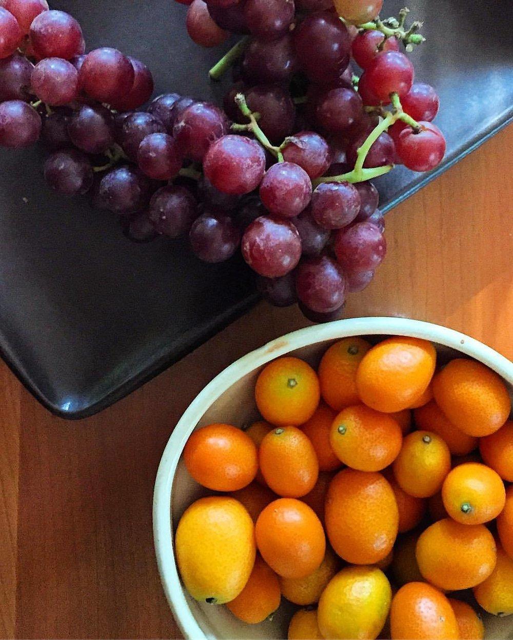 Straddling seasons.  #california #springtosummer #fruit  (at At Home in Napa)