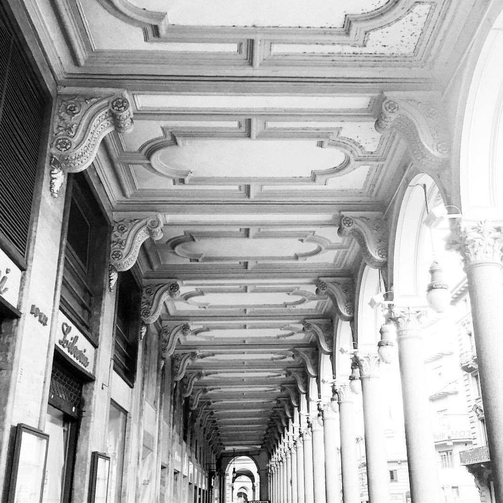 Everyday beauty.  #italy #torino #architecture (at Turin, Italy)