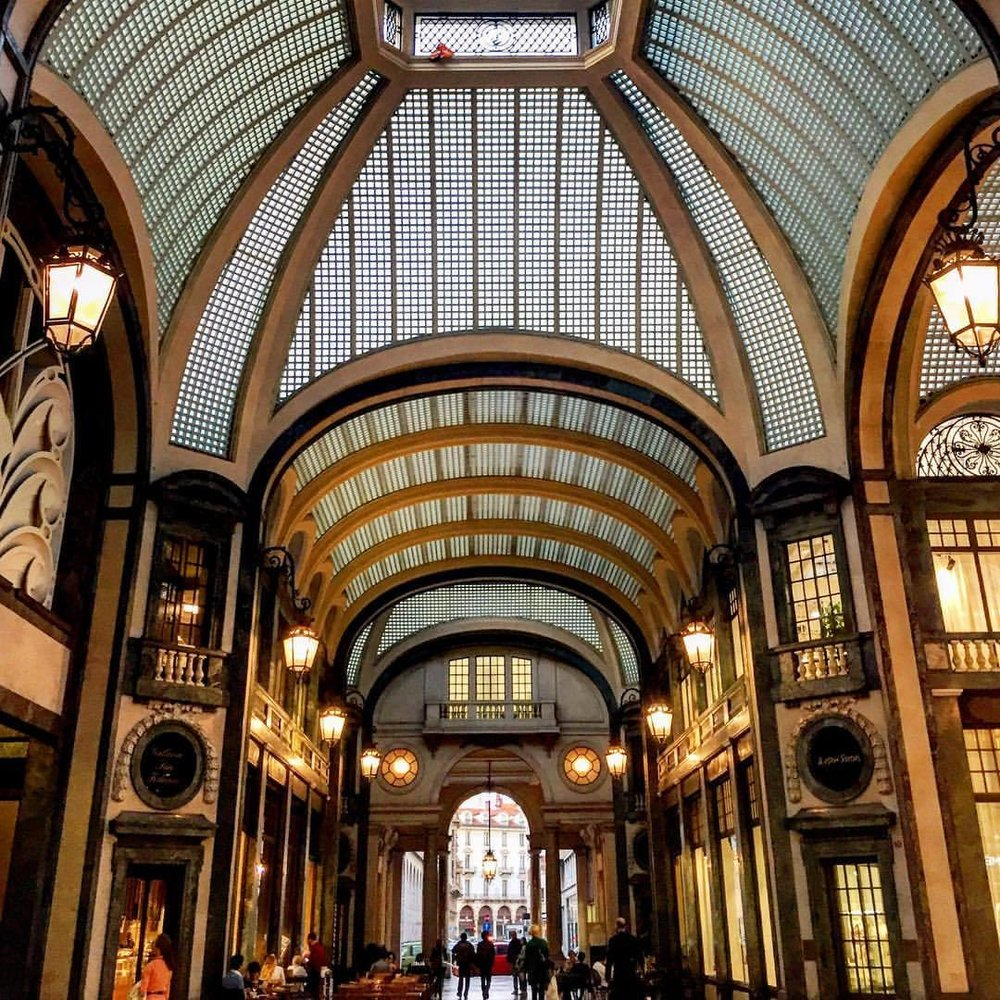 Galleria (aka euro shopping mall).  #italy #torino #architecture  (at Turin, Italy)