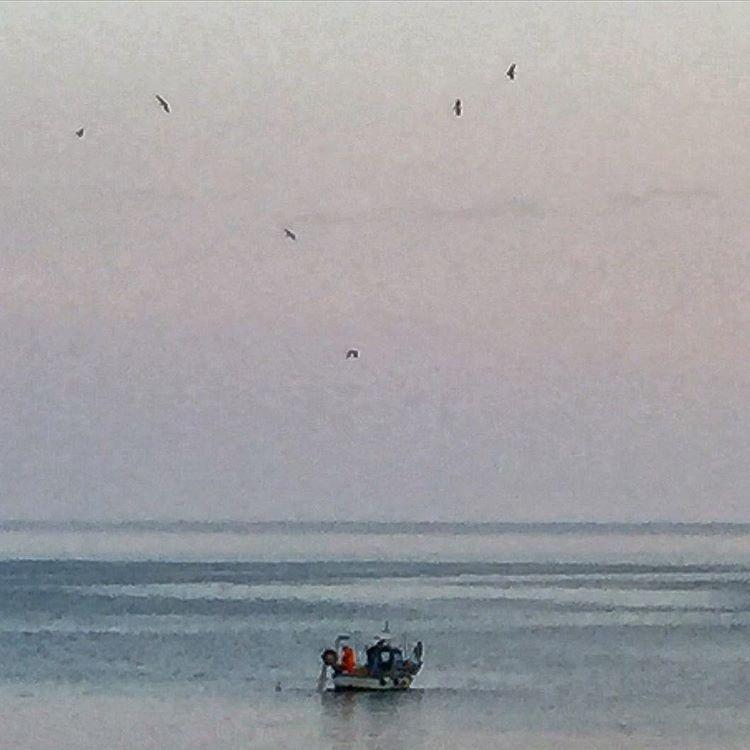 Peace.  #italy #liguria #fishing  (at Santa Margherita Ligure)