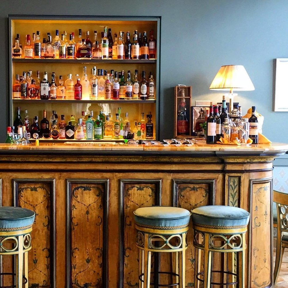 Aperitivi.  #italy #liguria #bar #vermouth  (at Santa Margherita Ligure)