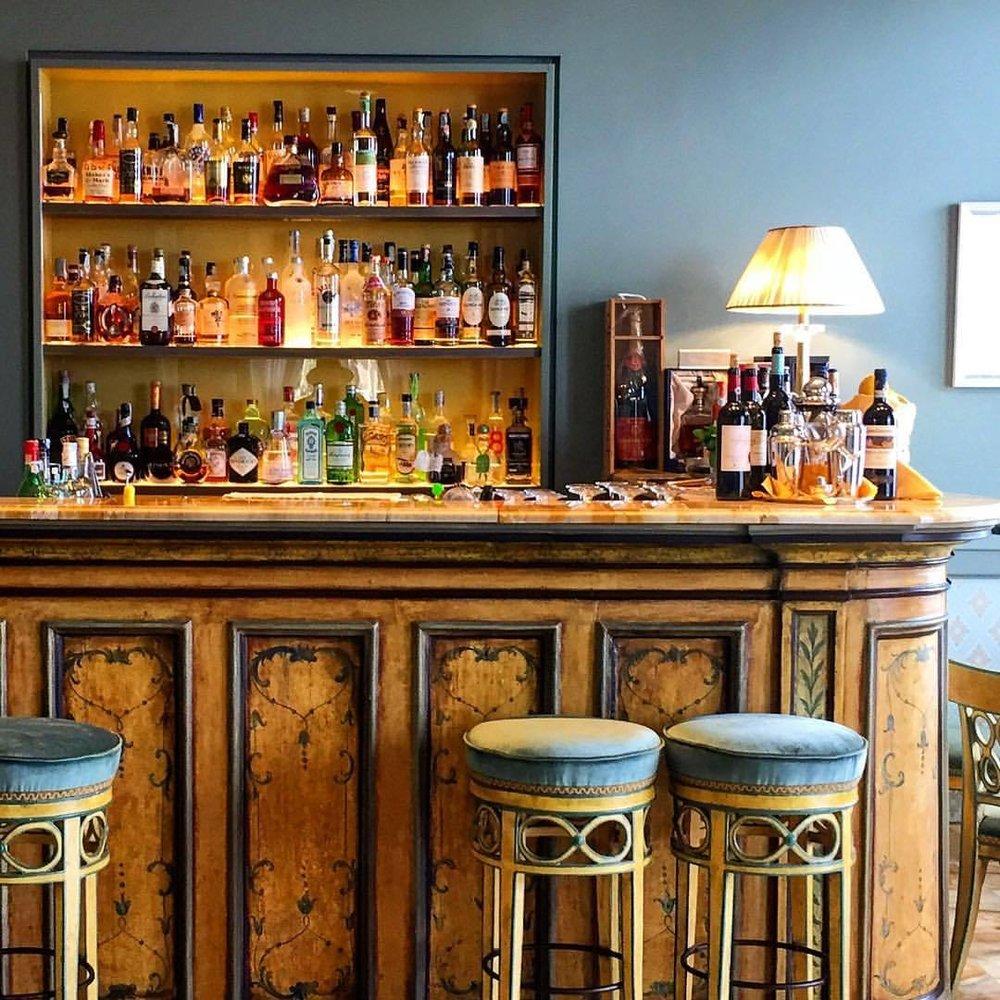 Aperitivi.  #italy #liguria #vermouth #bar  (at Santa Margherita Ligure)