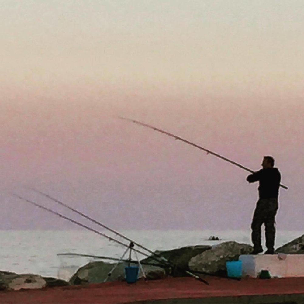 Pesca.  #italy #liguria #fishing #pesce  (at Santa Margherita Ligure)