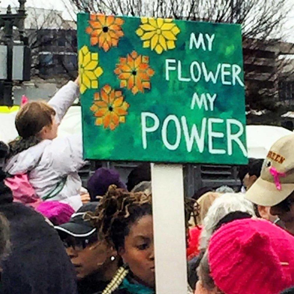 Indeed.    #womensmarchonwashington #womensmarch  (at Washington National Mall)
