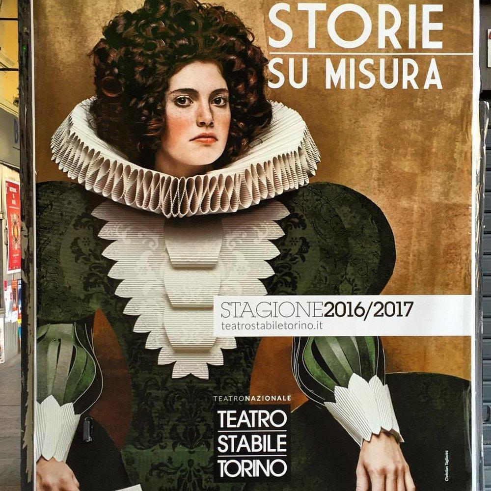 Theater.  #italy #teatro #turin #italiandrama  (at Turin, Italy)
