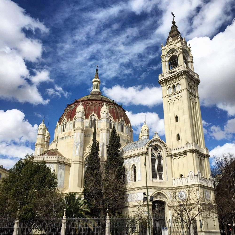 Easter week.  Madrid, Spain.
