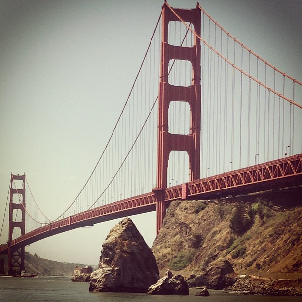 Our mighty Golden Gate…