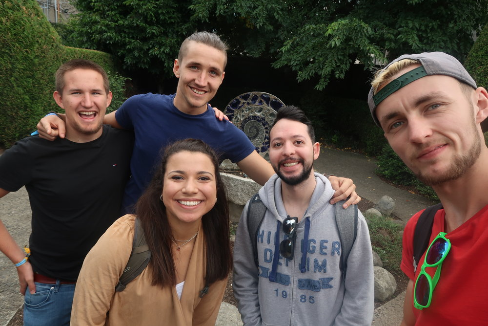 I made these friends at a pub crawl in dublin, we ended up exploring the city together