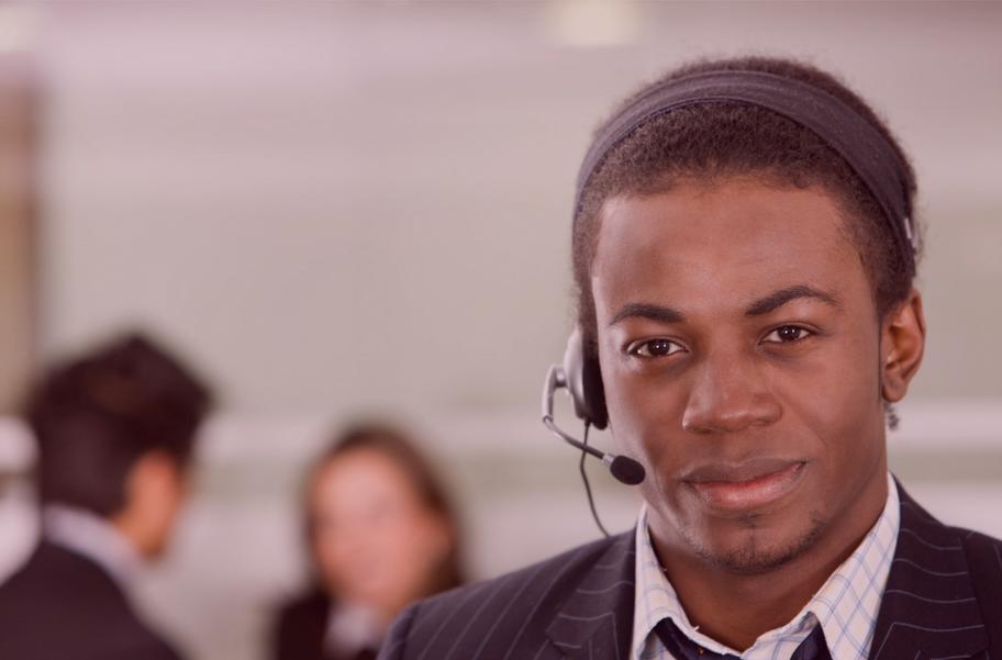 Customer Service Black Man Stock.png