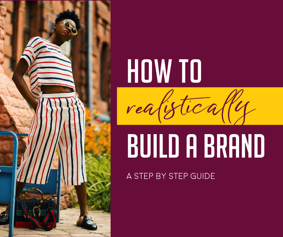 How to build a brand step by step marketing black entrepreneurs