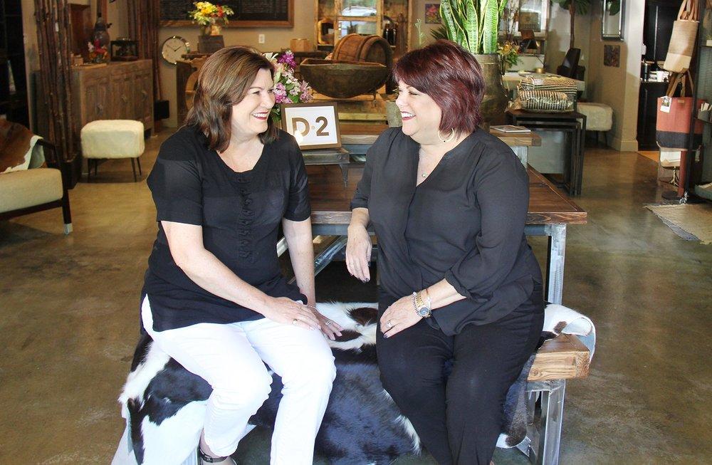 Diane (left) Debra (right)