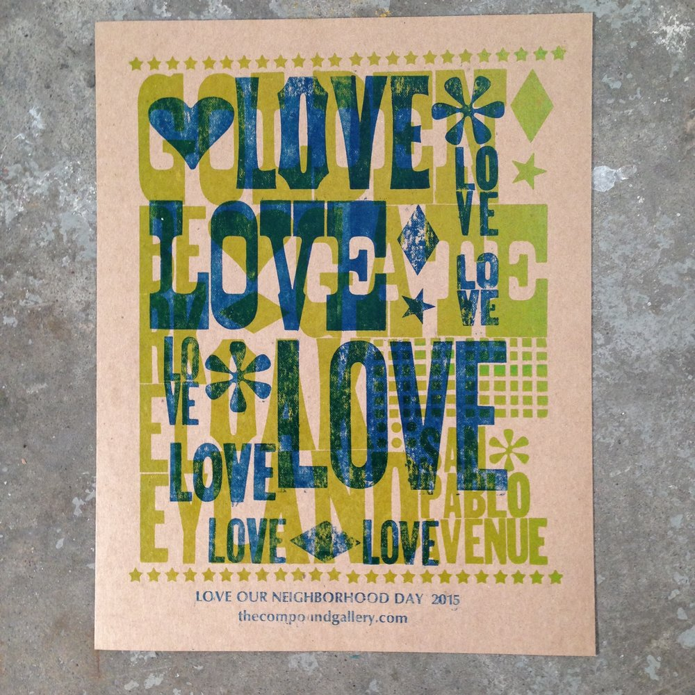 love our neighborhood day prints