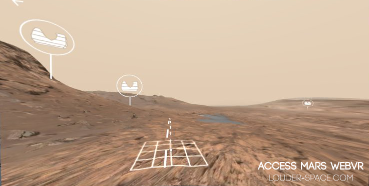Access Mars Allows You To Explore The Observable Surface Of Pieced Together With Real