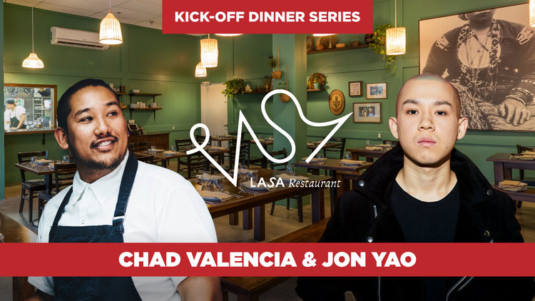 Dinner at LASA with Chefs Chad Valencia and Jon Yao