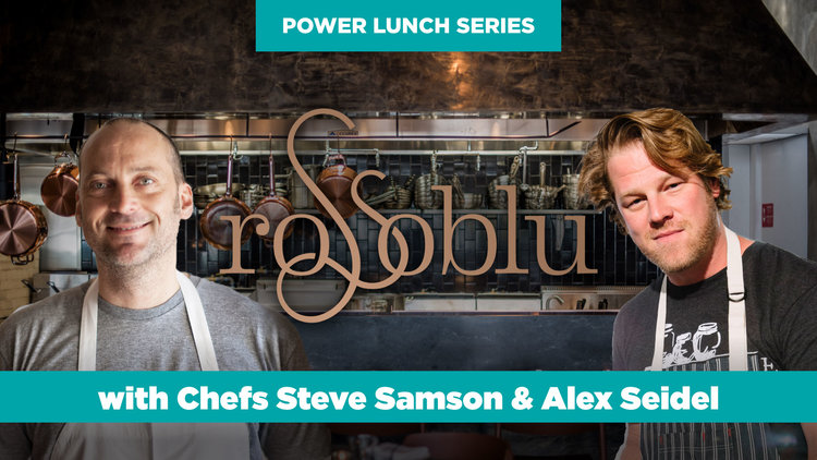 Power Lunch at Rossoblu with Chefs Steve Samson & Alex Seidel