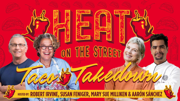 HEAT on the Street With Chefs Aarón Sánchez, Robert Irvine, Susan Feniger and Mary Sue Milliken