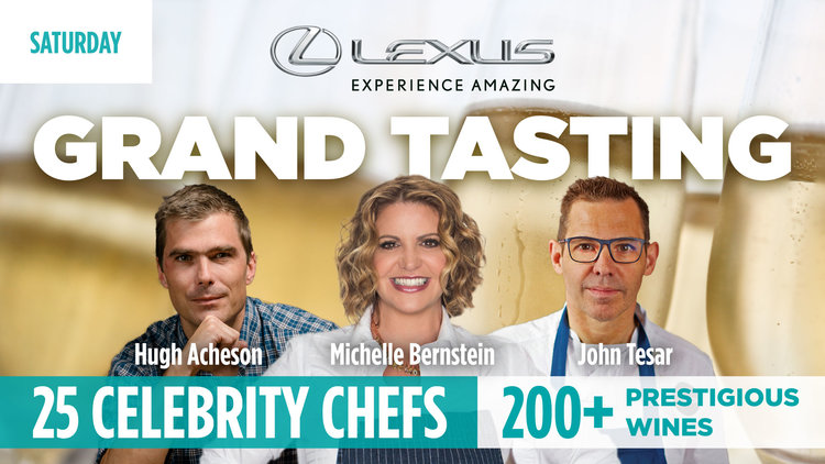 Lexus Grand Tasting Saturday