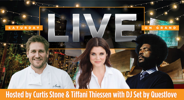 Saturday LIVE on Grand Ave with Curtis Stone and Tiffani Thiessen with Special Guest DJ Questlove