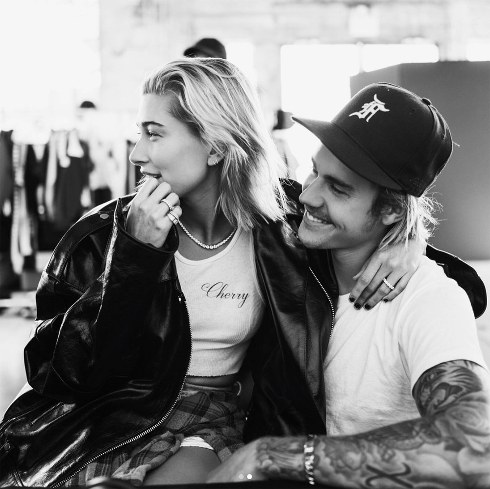 Justin Bieber and Hailey Baldwin and