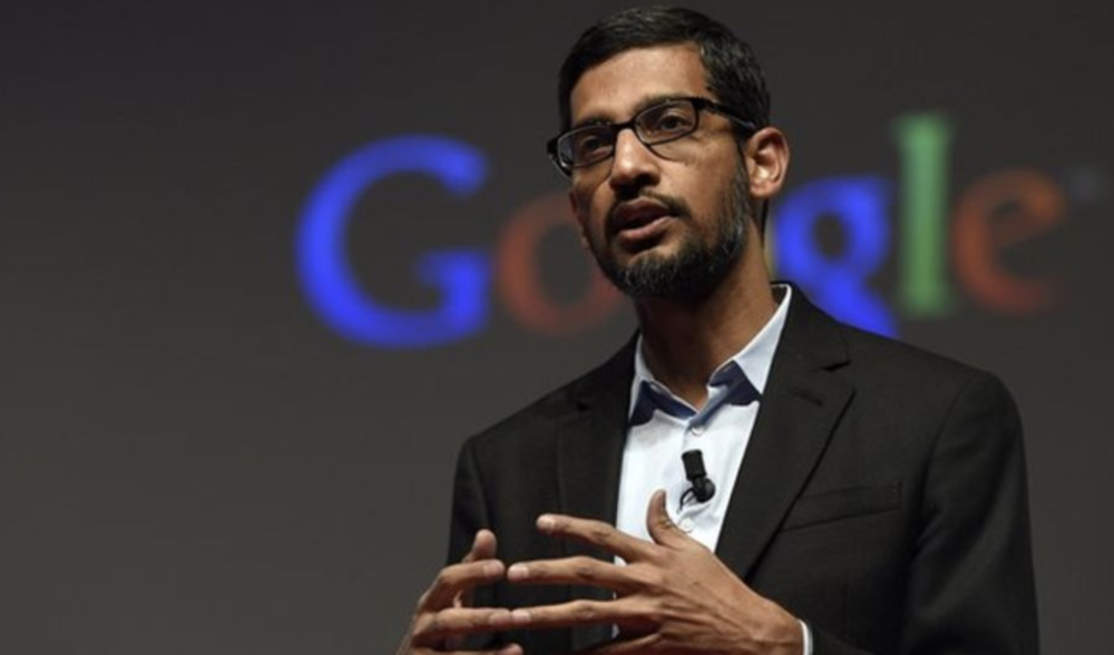Google CEO Sundar Pichai. Photo courtesy of BBC