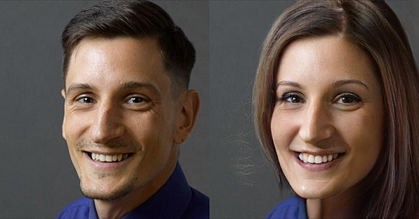 Photo courtesy of FaceApp