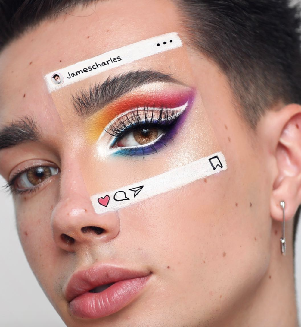 """The Crazy """"Instaception"""" Makeup Trend On Instagram Is Really Cool"""