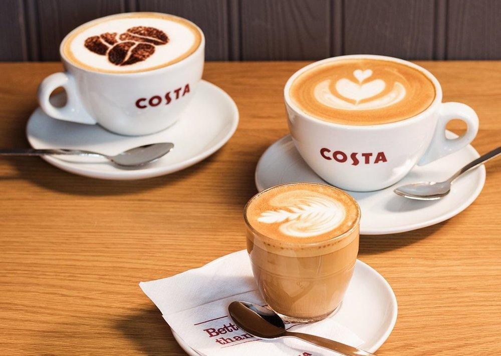 Photo courtesy of Costa Coffee