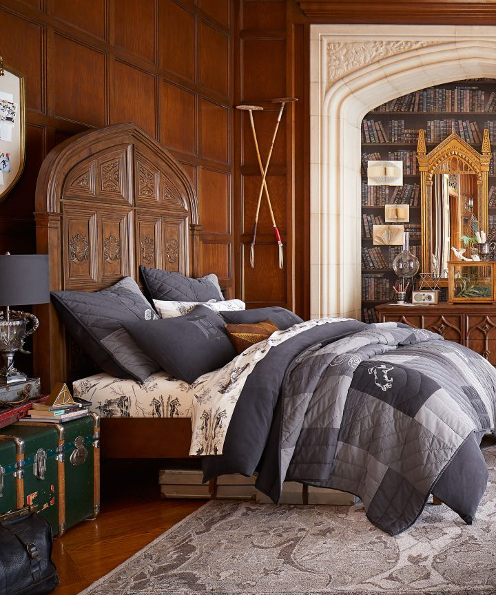 Pottery Barn Will Help You Decorate Your Room To Look Just Like A Dormitory  From Harry
