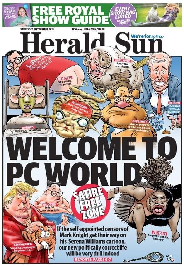 Photo courtesy of  The Herald Sun