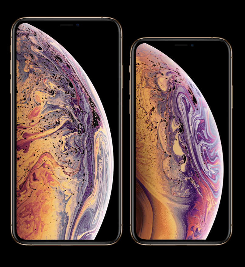 iPhone XS and iPhone XS Max. Photo courtesy of Apple