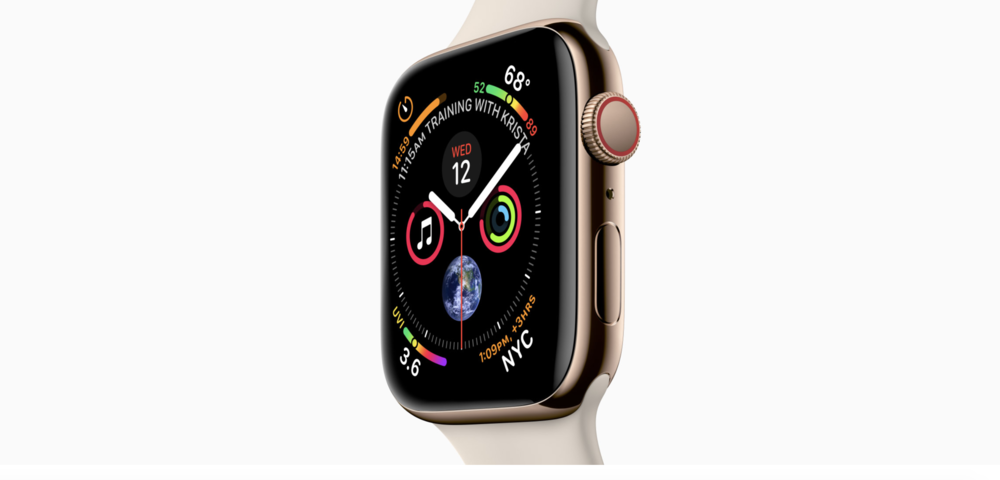 Apple Watch Series 4. Photo courtesy of Apple