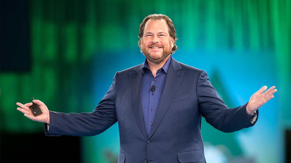 Salesforce.com co-founder and co-CEO Marc Benioff. Photo courtesy of Jakub Mosur Photography