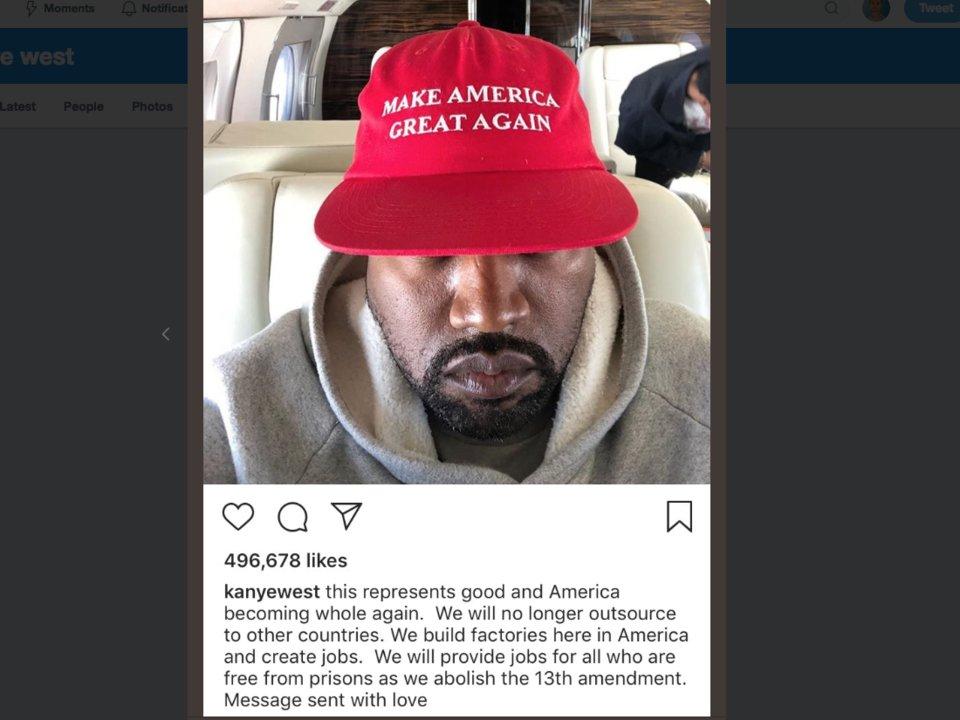 Photo courtesy of Kanye West