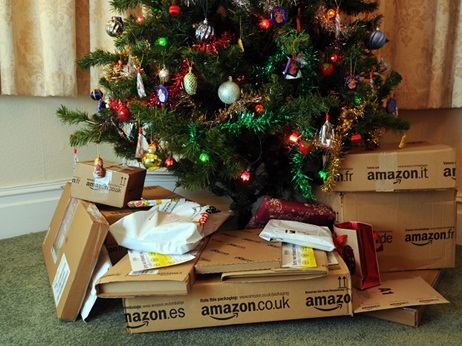 photo courtesy of the sleuth journal - Amazon Christmas Delivery