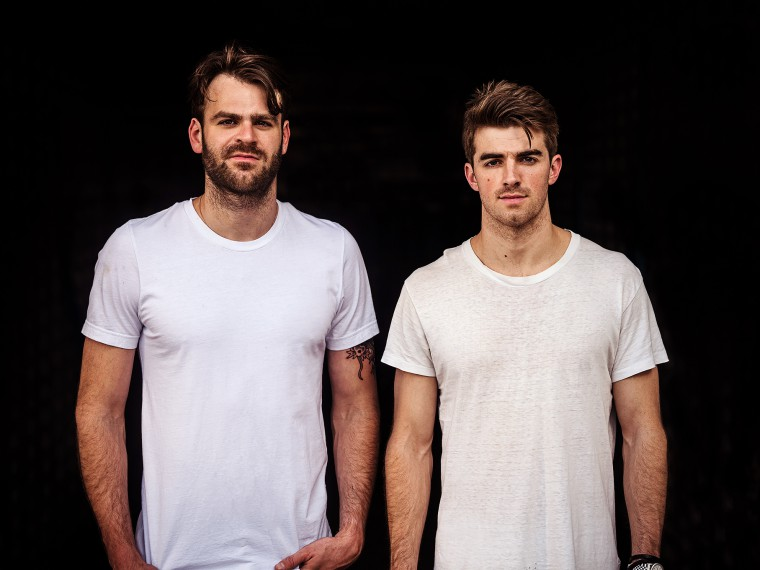 Photo courtesy of @thechainsmokers