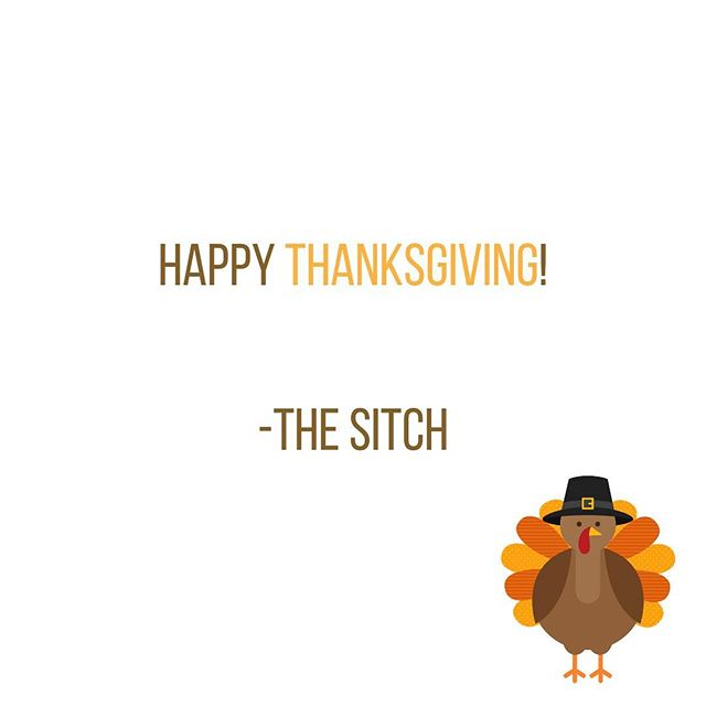 Happy Thanksgiving! We're thankful for you - thanks for reading The Sitch 🦃🦃 #thanksgiving #thesitch #thursday #turkeyday #mediacompany