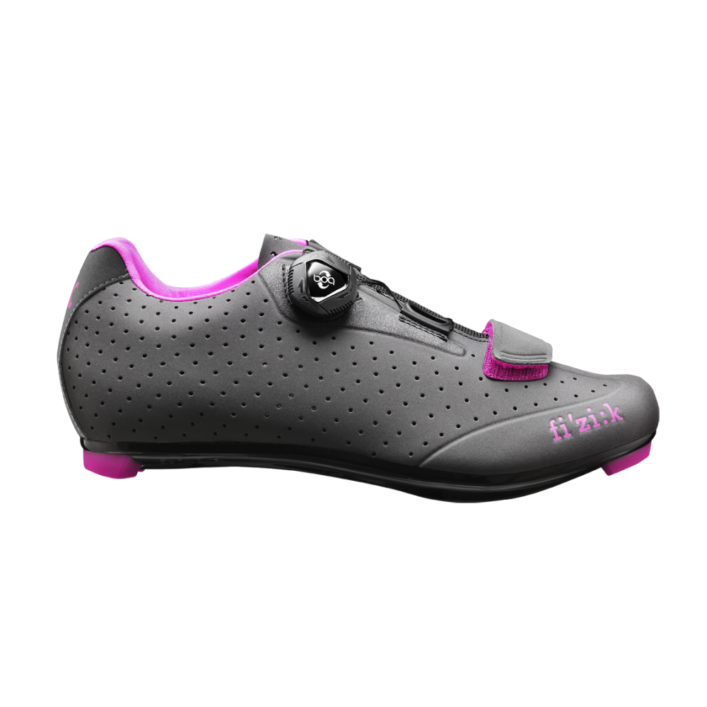 R5B Donna - R5B Donna: fi'zi:k's range of road cycling shoes is developed in collaboration with leading professional cyclists and used to great effect by WorldTour, Olympic and World Championship riders.