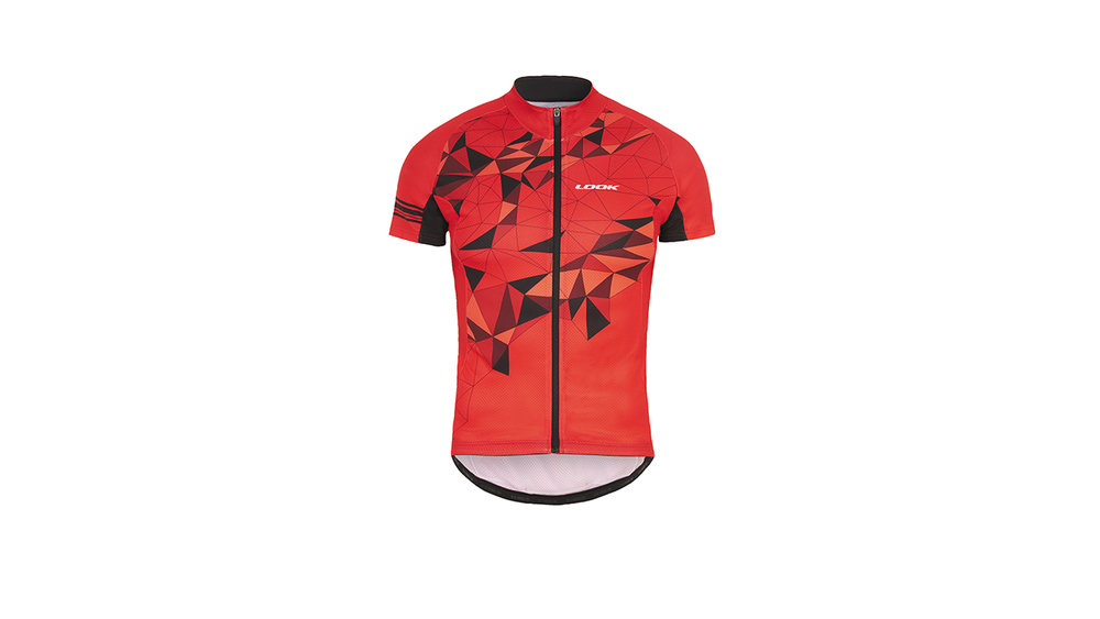 LOOK Pulse Jersey - Thanks to the fabric's construction, moisture is drawn away from the body toward the clothing exterior where it evaporates quickly.
