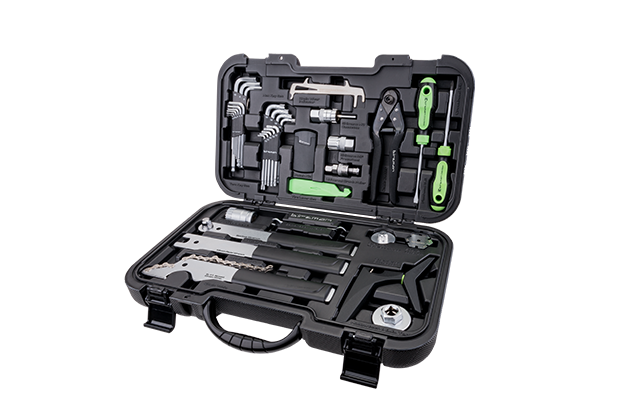 Travel Tool Box - Designed to be taken with you anywhere, this portable tool kit is the ultimate companion for mechanics on the move. Ideal for team mechanics at races or the home mechanics who are after the freedom to 'wrench anywhere', this Travel Tool Box contains 20 carefully selected pieces from Birzman's portfolio of high performance tools.