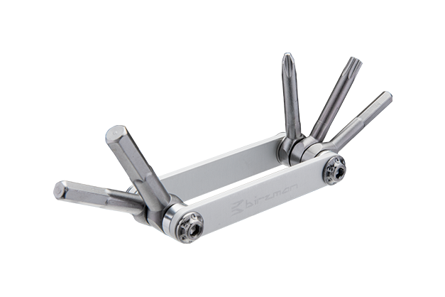 Feexman E-Version 5 - A simple, unobtrusive multi tool that is hard-wearing and constructed to get you back in the saddle quickly.
