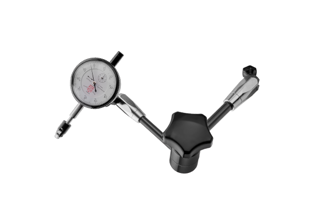 Dial Indicator Gauge - Measures the lateral and radial run-out of wheels to 0.01mm.- Mounts easily onto Birzman's Wheel Truing Stand.