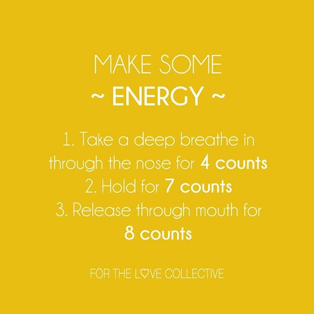 And repeat 4 times...🤗 Sleep deprivation in the early years of parenthood can take it's toll. Some deep breathing to get a nice big oxygen intake may help pick you up throughout the day.  #breathe #oxygentherapy #energy #exhausted #mothercare #selfcare #forthelovecollective