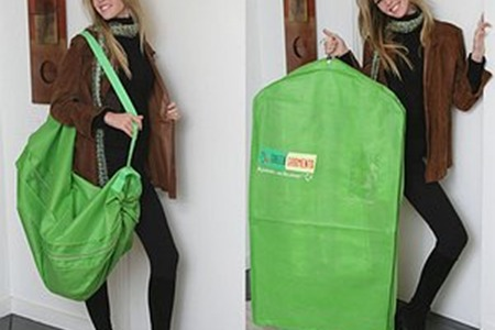 - We offer re-usable garment bags. No more plastic. No more garbage every time you dry clean