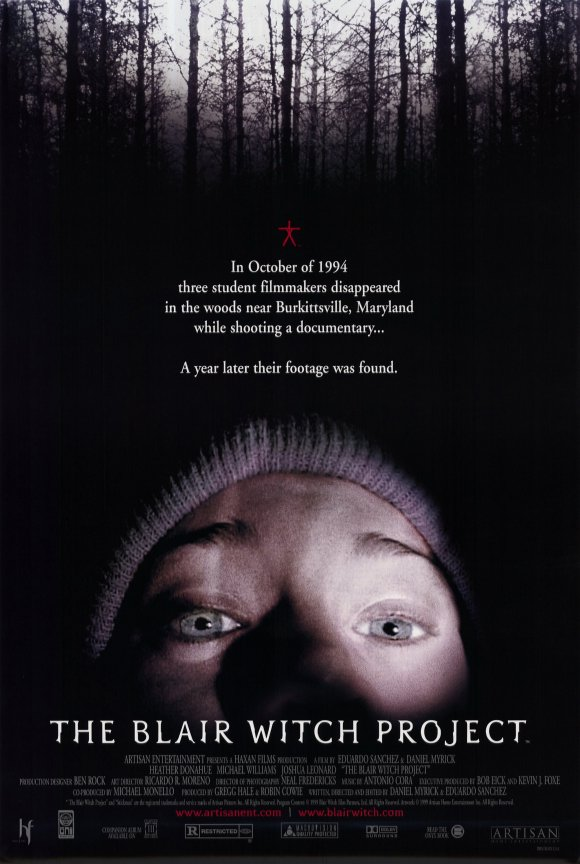 "The Blair Witch Project - By Adam Wilcox, and Groovinator, The Cynical CyborgIt would be wholly unfair of me to review a movie that I consider to be the worst movie of all time now that 20 years has lapsed since its release. Especially considering how dillutted it's become since found footage films flooded the market over the years. I remember seeing this movie with my mom, who we have both bonded over horror movies since as far back as I can remember. We had been following articles in the newspaper about this crazy scary movie called The Blair Witch Project. I remember standing in the parking lot talking to my mom after the movie, before went back to our separate homes in 1999. As a matter of fact, I sent Groovinator, The Cynical Cyborg to use his time travel shit to interview myself 20 years ago in that same parking lot after my mom left, and the parking lot was basically empty. Here is a transcript of that interview:Groovinator: Adam Wilcox? Wow, your so…thin… kind of good looking too! Are you REALLY Adam Wilcox?1999 Adam: Uh…who the fuck are you?Groovinator: I am Groovinator, a cynical cyborg from the future. I been sent back in time by you to ask you about the movie you just saw.1999 Adam: Oh yeah? Seems like a waste of good resources, what do time machines run on regular gas in the future or what? *lights a cigarette*Groovinator: The movie dude…1999 Adam: Fuckin sucked!Groovinator: …….Care to elaborate?1999 Adam: For like weeks, the fucker paper, the news, the tv, and literally every asshole I work with, won't shut up about this fuckin movie. You say your from the future, you seen it?Groovinator: Unfortunately…1999 Adam: So then you know that I just spent $8.50 a piece on me and my mom to see some sticks and stones. Fucking nothing happens. You see nothing. All the people are stupid. The camera shakes so bad you can't see shit, and I almost got dizzy a couple of times. They shoulda handed out like puke bags or some shit. It was so bad that nobody said nothing but this big dude down front chucked his soda at the screen when the house lights went up, and nobody even said shit, not even a blink. Not even the ushers! Sticks and stones dude! The guys that made this film are geniuses because they tricked the audience into paying to see sticks and stones. They deserve like the fucking Nobel peace prize or something!Groovinator: Do you think it is real?1999 Adam: Now you are starting to sound like my room mate. He went and saw it, and told me it was scary shit too. He even went to Barnes and Noble and bought the fucking book. I've seen the book, and it's got some really cool shit in it, but fuckin none of that cool shit is in this movie. I guess they got this website you can go to, but I can't afford a fucking computer man, I don't even know anyone that has one. These kids interview some locals…that part was cool, but then they go into the woods, they hear some noises, they get lost. Then one of them goes missing, so they go chasing after him yelling JOSH JOSH JOSH for like a fuckin half a fuckin hour, then one of them is standing in a corner, and the camera hits the floor. That's it. This movie is only 80 mins, but it's still too fuckin long. I would ask for my money back, but I fuckin deserve this I guess…Groovinator: Would you recommend this to a friend?1999 Adam: Funny you should mention that, because everyone I know for 2 weeks is like, yeah go see this fucking movie. I think they just want me to go so that they don't have to feel stupid. It's like some kind of heard mentality or something. Everyone drank the cool-aid and thinks they saw some really scary thing. I mean it's scary if your into campfire stories…ghost in the graveyard…shit like that. You know…holding a flashlight under your face and going ""oooooooh spoooooooky noises….woooohoooo"". Know what I mean haha?Groovinator: I'm familiar.1999 Adam: In fact there was this one scene where the main girl holds a flashlight under her face and starts crying into the camera, and snot rockets are coming down her face…I wanted to laugh man, but I don't like being a dick head in movie theaters.Groovinator: There are a vocal minority of people that will appreciate that kind of theater etiquette in the future. Hang on to that. Also, maybe lay off the Taco Bell, beer, and smokes.1999 Adam: Whatever dude…lolGroovinator: So what are you going to tell all of your friends that made you go see this tomorrow?1999 Adam: Pffft, that they are full of shit! I mean I know they are going to rag on me and waste all of this time trying to convince me that it was good, and they will probably hate me when I tell them it was a shit movie. In fact, I think this is the worst movie I have ever seen. Not ever changing my mind about that.Groovinator: Why is it the worst?1999 Adam: It's the worst because it was built up so much, with almost a nothing payoff. Like, I was kind of buying into it. I got really excited, because I love spooky stories, paranormal shit, I've even seen things myself that I can't explain. So I was like really excited going into this. It's just so much nothing. I mean it's a good set up, but it's like having a half hour of foreplay, and then leaving with fuckin blue balls. I think that is the worst, when it builds you up, and delivers you nothing.Groovinator: When was the moment you decided you hated it.1999 Adam: Not long after they go into the woods, they wake up and the main girl Heather can't find the map, and then nobody has it, and they start accusing each other, and I'm, thinking oh wow…now it's getting good! Maybe the witch is turning them against each other, and this is slowly how it will end! Then like maybe ten minutes later, the sound guy…I think his name was Mike, he tells Heather he kicked the map in the river, and he was laughing about it. I'm like…omg why?! So after fighting about it for a while, they just decide to keep heading in the same direction, only after a day of walking, they wind up in the same spot they started, which happens to be a river. At this point, If it were me, realizing my compass wasn't working, I would have just followed the river, but they don't! They just keep walking, and crying about it. I mean these are supposed to be college kids, I don't have any outdoor survival training, but I have SOME college…at least enough to think of it. I mean WTF?! It's like they have no sense of self preservation. If this were supposed to be real…don't you think they would at least TRY to survive? They don't so when they get killed….it's like I don't fuckin care! I mean even in Halloween, you WANT to see Laurie Strode, get away, because she seems smart, determined, and while her friends are all out getting drunk and screwing around, she is the voice of common sense. She is the one the audience WANTS to identify with. In this Blair Witch Project movie, Heather is a bitch, who gets all of her friends in this predicament and then she just breaks down even more.Groovinator: Wouldn't you say that makes her more believable though as a character. I mean would a real life person be as smart as Laurie Strode.1999 Adam: Maybe, I mean the kids were scared, and there were some spots where there were some spooky noises that I appreciated. Those moments made the hairs on my arm stand up. But that's the thing man, I mean this movie tells us at the beginning, that all of these people went missing, bodies were never found, only the tapes. So you already KNOW they are going to fuck up, so you are just waiting for the foolishness to occur. So when it does your thinking….what a dumb ass. And that is something else that bugged me. Who found the tape? Where did they find the tape? Did the witch conveniently deliver it? This is why I can't buy into the supernatural part of this movie. But the fact that these three kids have an overall lack of self preservation doesn't make me believe this movie could be real. It's like one big fucking con job.Groovinator: Interesting. So if you could give this movie a score out of say 5 cheese curds, what would you give it?1999 Adam: Why cheese curds? What's wrong with stars?Groovinator: It's just a thing that your dumb ass came up with, don't ask.1999 Adam: Haha. Fair enough! I would give this movie 1 out of 5 cheese curds, for having a super brilliant marketing campaign. It kind of reminds me of what Orson Wells did with War of the Worlds. That mass hysteria thing still seems to work.Groovinator: What if I told you that this movie will have a significant impact on pop culture and start an entire subgenre within horror itself known as ""found footage films""?1999 Adam: So it IS a movie right? Haha!Groovinator: Yeah, I think we are past that already.1999 Adam: Well it that case, I would give it 2 out of 5 cheese curds for having such a lasting impact on pop culture, especially over a stupid fuckin movie like this one. God the future must be fucking sad. I won't change my mind about how much I hate this movie though…ever. Worst movie ever!Groovinator: Don't worry, you won't."