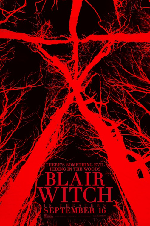 "Blair Witch (2016) - Blair Witch (2016) ReviewBy Adam M. WilcoxIn the 1995 film Mallrats, Ethan Suplee plays a character named William, an overweight person who spends most of his day at the mall staring at magic eye poster trying to see the image. The joke is that everyone in the film can see that there is a sailboat in the image, but William never sees it. The aggravation of it all drives him slowly insane. That is essentially The Blair Witch Project phenomenon for me. There are several of my good friends that maintains that this movie is piss your pant's scary, however I never bought it. Not even once. Essentially I am William in Mallrats.When I tell people that I hate The Blair Witch Project, I mean it. To this day I use it as a litmus test to judge how bad a movie is. See The Blair Witch Project is not a so bad its fun to watch movie. It is just bad. It is downright painful. In spite of the movie tripping on it's own established facts, its single biggest sin, is that it showed so much potential, but instead is a proving ground about generating enough hype surrounding your film can make it actually seem good in the eyes a general audience. In 1999, it was all the talk as to just how real this horror film was supposed to be. The greatest trick the devil ever pulled was convincing the world that he didn't exist. For two filmmakers in 1999 they pulled that off like gangbusters. The legendary viral marketing, and old fashioned word of mouth, is a significant land mark in pop culture. The film itself however, is divisive as to how good it really is. I decided to do some further research on this movie, because now I have unlimited access to internet, which was not readily available to me in 1999. I discovered that this year marks the 20th anniversary so I decided to watch the movie again, and give it the fairest review I can, that you are more than welcome to read on this website. I spent a great deal of time arguing with friends of mine last week about the points that didn't work for me in the original film. One of the things that kept coming up outside of Wikipedia or any of the outside resources was this 2016 film that allegedly explains some of the ambiguity of the original source material. Out of respect for those people and they're passion about this movie, I reluctantly decided to give this a go.I actually enjoy some of the films in this genre that we now called ""found footage""; I think it can be clever when done properly. My favorites would probably be some of the Paranormal Activity movies, Cloverfield, Troll Hunter, and the V/H/S series. It's just another form of storytelling now. Back in 1999, it was not a genre, and The Blair Witch Project influenced enough film makers to pursue this genre to the point where it has become a rather saturated market that is now showing signs of stagnation among film goers. The point of the original Blair Witch Project was to present itself as a historic event, rather than just a simple movie. Twenty years later, unless you have been in a coma, everyone knows that it was mostly a publicity stunt designed for entertainment. So it seems rather curious to me now that we would do a sequel or soft reboot of the original now. It is kind of like trying to open a hamburger stand between a Burger King, and a McDonald's. Sure there is a market there, but you better make sure you bring something extremely new to separate your brand from the others right?Set in modern 2016, we are given the same opening credits where we are told this footage has been found, and all of these people went missing. So we know shenanigans will inevitably occur. We open up with James looking at YouTube footage that appears to be taken in the same house as found in the original movie. He pauses on an image that appears to be his sister, Heather who went missing from the original documentary. So this takes place in the universe where the assumption is that the movie was real, and that none of those people were ever found. And I am ok with this. James is a paramedic, so I guess he has a pretty disposable income, because now he enlists the aid of his friends Peter, Ashley, and Lisa who all have high tech cameras that are attached to a Blu-Tooth headphone. They also have a surveillance drone which appears to be a plot point, but we will get into that later. His contact is the YouTuber Darkwebb666 who happens to live just outside Burkettsville MD, the location of the woods where the original 3 people went missing. Once they meet, the film gets somewhat interesting, and the Darkweb aka Lane, and his girlfriend Talia insist on going into the woods with them to show where they found the film they used in the YouTube video.As you can see, despite the twist of having some strangers join the crew at the last minute the set up here is pretty much identical to the first movie. Where it goes completely different though, is that THIS particular movie wastes no time telling you that there is a definite supernatural element. The original film left most of this ambiguous and open to interpretation. Where this one falls apart however is very early on. James is watching the ending of The Original Blair Witch project which SPOILERS reveals Mike standing in a corner just before the camera hits the ground. In THIS movie, even though he is supposed to be watching the same video, a loud supernatural howl is added, which you have to admit, feels kind of cheap. And that brings me to my next point. Every time the movie is trying to build tension, there is a loud audible hum that signals that something supernatural is about to occur. It's almost an assault on my intelligence. The best scares are when you least expect it. This film goes a bit too out of its way to set them up. The other problem I have is that overuse of jump scares ruin this movie right off the opening credits. There are so many jump scares even in scenes where jump scares are not even necessary, and they are so frequent, that by the time they matter, you can see them coming a mile away. My third problem is that this movie is using conventional special affects to show you that there IS something supernatural going on, and that is where this movie goes way off the rails. In this universe the Blair Witch can manipulate time. Some of our gang wakes up late in the afternoon, thinking it is morning. Some wake up in the morning and there is no sunlight. At one point the two YouTubers separate from the group, and when we see them again, Lane has a beard and says it's been weeks since he saw them the last time. I liked this idea actually. In fact this might be the only aspect I liked. However, there is another factor that is briefly introduced, but seems to go absolutely nowhere. Early in the film, these kids foolishly cross a stream BAREFOOT, and Ashley apparently scrapes her ankle. It slowly gets more infected and starts moving by it self. Eventually some creature is pulled out of her ankle. Thought they were going to pick up that part of the plot and go somewhere with it. Never happens. A lot of things never happen. The drone goes up enough just to show us, that the highway cannot be seen, and conveniently crashes. The drone is found later in a tree. When Ashley tries to climb the tree with an infected ankle, she falls out of the tree, and is apparently dragged away.As you might expect, things go from bad to worse for these kids, until they finally wind up the mysterious house from the first film that literally appears out of nowhere. Once they get into the house there is an interesting sequence that takes place, but like many of the events in the film, not all of them pay off. They even show us The Blair Witch herself/itself, who may or may not be a witch at all. The house might even be a spaceship. Yes I typed that. Also, the movie tries to be clever by telling you that if you look at the witch or whatever it is, it will get you, so they use the view screen of Lane's original camera to watch for the witch. Ultimately though, it ends pretty much the way you think it would.This movie had a couple of good ideas that work, but when framed around the Blair Witch lore, it kind of just doesn't work at all. The over use of sound cues, jump scares, and visuals diffuses the tension and removes the believability of it being found footage. I think the director tried here. He was obviously a fan of the original, and wanted to present his version of that movie, but it just comes off as a cynical reboot of a movie style that has long been lost in a sea of white noise. Ultimately I found that if you are fan of the original, you will most likely love this one too…I think it respects those fans. If you were not a film of the original, unfortunately this one will not win you over, or convince you the original was better than it is. Unfortunately I am biased, so take my score with a grain of salt. I give it 1 out of 5 cheese curds, 1 cheese curd for the awesome chase sequence at the end."