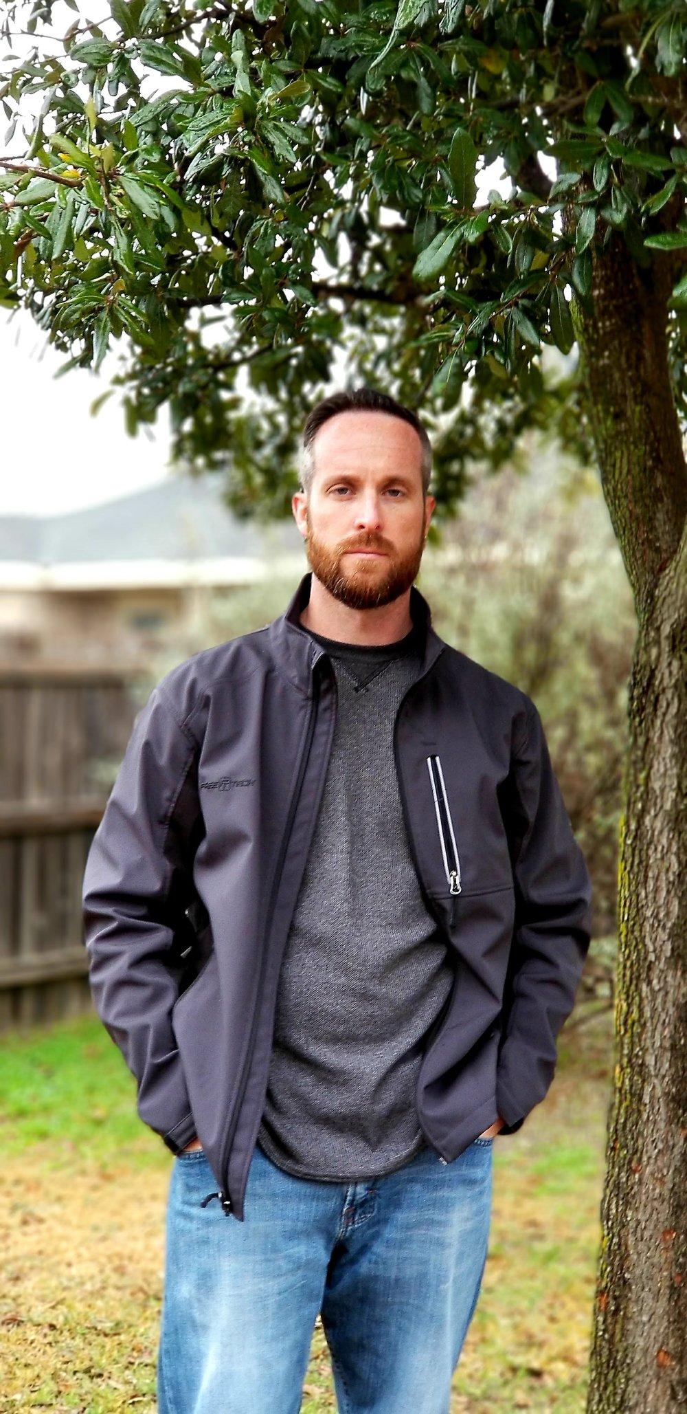 Chad Pettit suspense writer